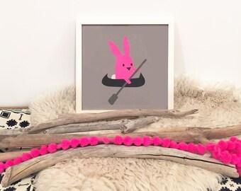 Day Three // Paddle Bunny