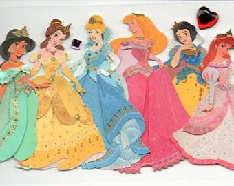 Disney Princesses Jolee's Boutique Scrapbook Stickers Embellishments Cardmaking Crafts