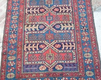 Rug of Persian tribes around 1920