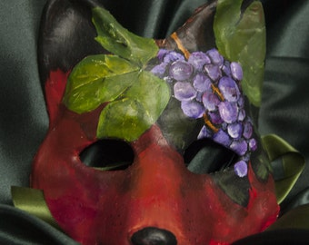 The Fox and the Sour Grapes Mask
