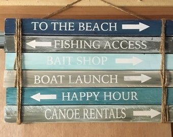 LAKE DIRECTIONAL SIGNS