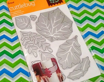Cricut Cuttlebug Seasonal Foliage Cut & Emboss Dies