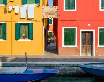 Burano Italy, Italy Photography, Burano Photography, Italy Wall Art