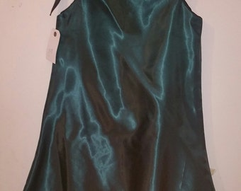 SleeveNess satin dress