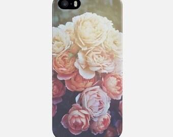 Peonies iPhone Case, Flowers Phone Case, iPhone 6 Case, iPhone 7 Case, iPhone 6 Plus Case, Women iPhone 5s Case, iPhone 4 Case, Phone Cover