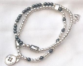 Twin Bijoux Stacking Bracelet