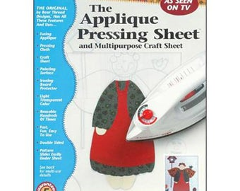 "Applique Pressing Sheet (13"" x 17"") from Bear Thread"