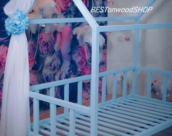 190×90,80,70cm,toddler bed,nursery wood house,frame bed,original bed,home bed,montessori bed,Kids' Furniture,montessori nursery,kid bed