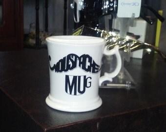 Vintage Mustache Mug Made in Japan Great Shape