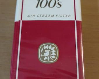 Vintage pack of Carlton 100s air stream Cigarettes