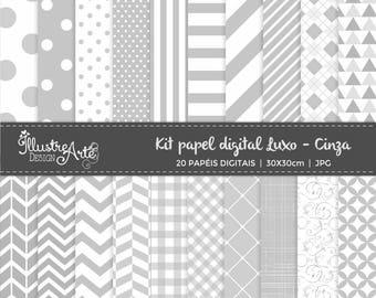 Digital Paper Basic Gray