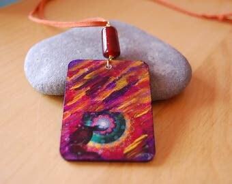 Ciondolo Meditazione colorato
