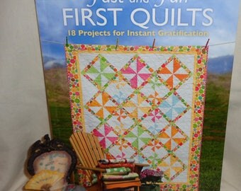 Fast and Fun First Quilts by Sara Diepersloot - Free Shipping