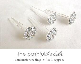 Rhinestone hair pin, hair stick, hair jewelry, bride gift, bridal hair, bridal accessory, brooch, broach, rhinestone broach, wedding hair
