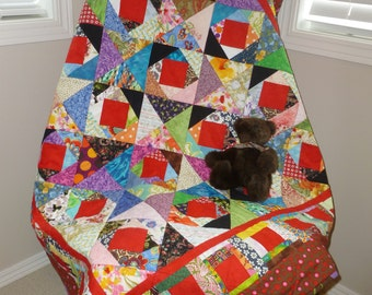 A Crooked Path Quilt