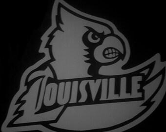 White University of Lousivlle Iron-On