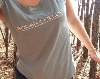 Rodan + Fields, Rodan + Fields clothing, Rodan + Fields Tank Top, R+F Tank To, Muscle Tee