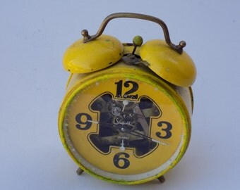 Antique Sheffield Alarm Clock (West Germany) rare