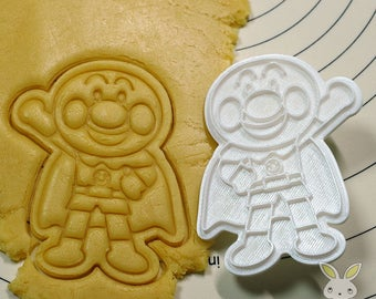 Anpanman Cookie Cutter and Stamp