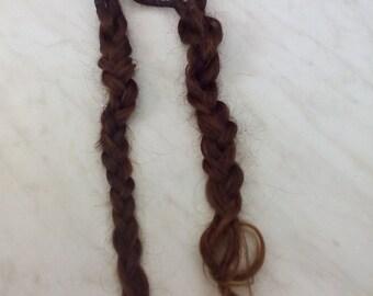 Vintage Grandmother's hair, Vintage Real Hair, Hair Accessory, Hair.