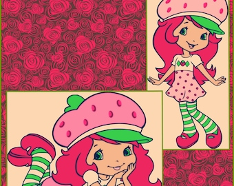 Strawberry Shortcake  SVG files - Strawberry Shortcake Designs for Cricut and silhouettte