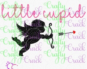 Little Cupid SVG, DXF, PNG - Digital Download for Silhouette Studio, Cricut Design Space