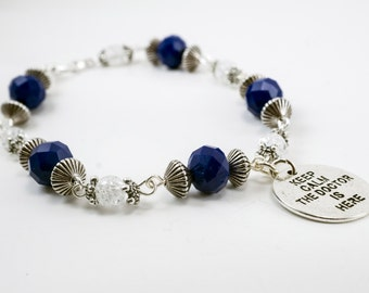 Doctor Who Inspired Bracelet - Custom Made - One of a Kind