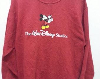 Vintage mickey mouse sweatshirt Disney 80.s medium//small