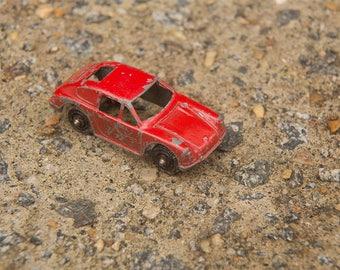 TootsieToy Vintage Porsche, red