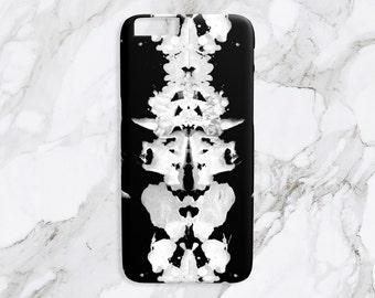 iPhone Case - Heirloom & Knot Rorschach - Blackout Print