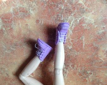 Обувь на ногу 1.7 и меньше. Хайди Отт. Масштаб кукол 1:12.  Boots per foot 1.7 or less.  Heidi Ott. Realpuki