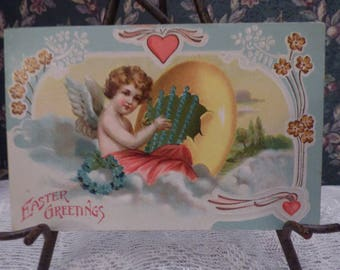 Early 1900's printed in Germany Easter postcard