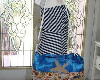 Ocean Front - beach bag