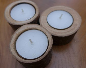 Candle holders (x3)