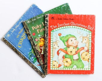 Little Golden Books Christmas collection