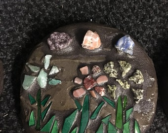 Stepping stone 'Flowers'