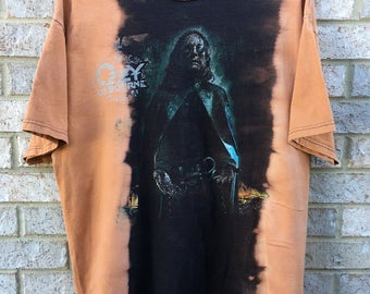 Vintage Bleached and Distressed Ozzy Osbourne T-Shirt