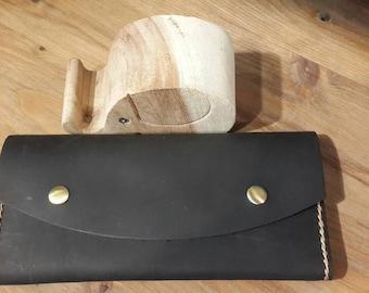 Leather wallet, big wallet, handmade wallet, big leather wallet, wallet, strong wallet