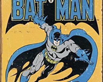 Bat Man Retro DC Comics Tin Sign