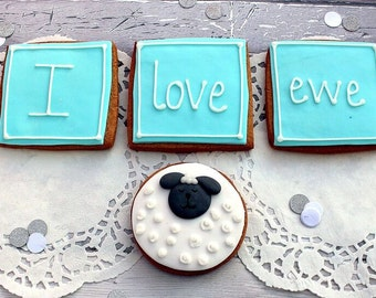 Valentine's gift, Anniversary biscuits, Valentines cookies, present for girlfriend, boyfriend, gifts for him, gifts for her, foodie gifts,