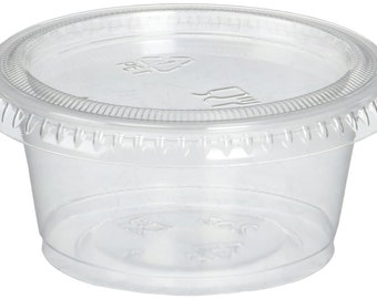 Portion Cup with Lid 2oz (Qty 100)
