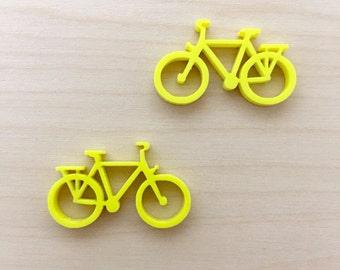Bicycle 1 - Small Stud/Dangle Pair