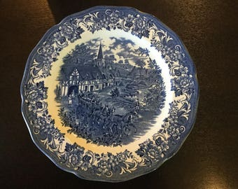 "Royal Staffordshire ""Stratford stage "" plate spring sale up to 40% off"