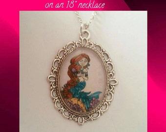 "Beautiful Mermaid 18"" Necklace"