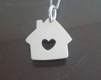 Home heart pendant love my life