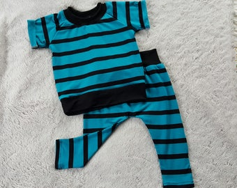Baby boy summer outfit, 9-12 months boy outfit, baby boy outfit