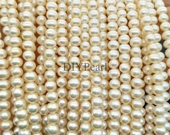 AAAA 5-5.5mm small diy loose pearls,pearl necklace bracelet,loose beads,white round freshwater pearls,best quality pearls,YSNRD-4A-5-RD-30