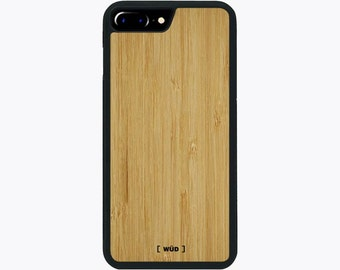 Bamboo Real Wood Phone Case for iPhone 6 Plus/iPhone 7 Plus/iPhone 8 Plus