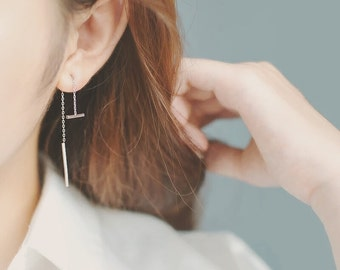 Tania Earring in 925 Sterling Silver