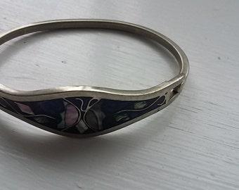 Mexican enamel bracelet